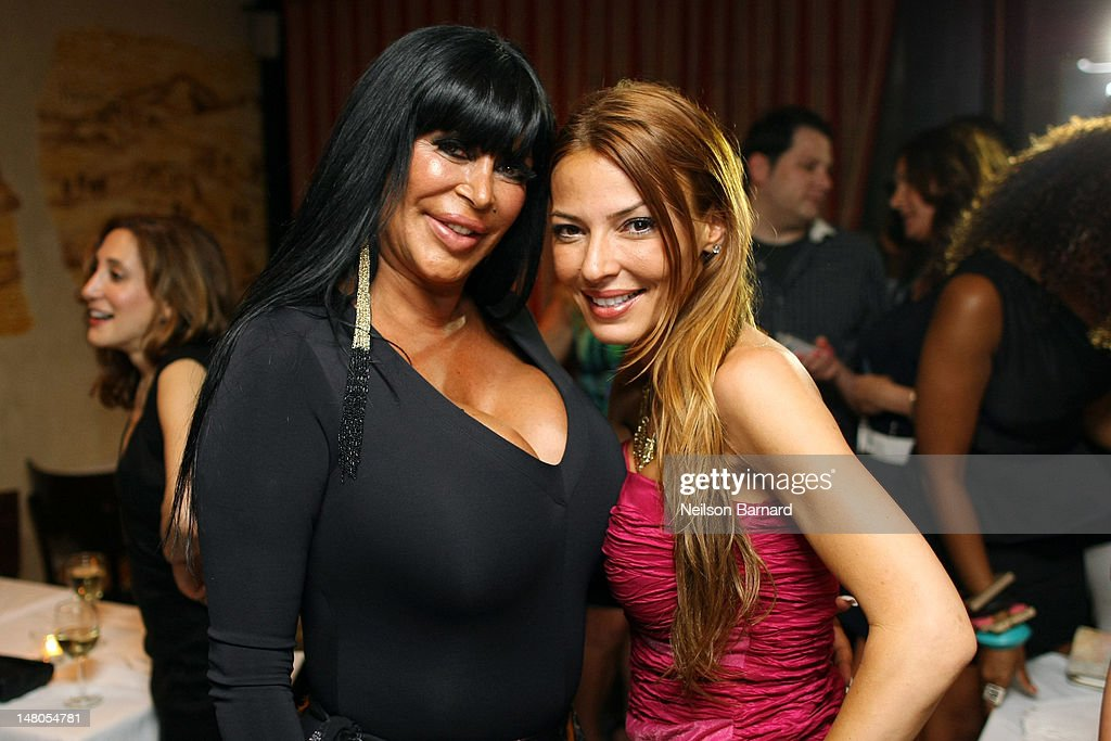 Angela 'Big Ang' Raiola and Drita D'Avanzo attend the VH1 Big Ang Party at Trattoria Dopo Teatro on July 8 2012 in New York City