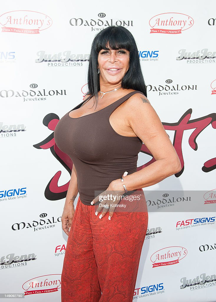 Angela '<a gi-track='captionPersonalityLinkClicked' href=/galleries/search?phrase=Big+Ang&family=editorial&specificpeople=8749866 ng-click='$event.stopPropagation()'>Big Ang</a>' Raiola at Drunken Monkey on July 22, 2012 in New York City.