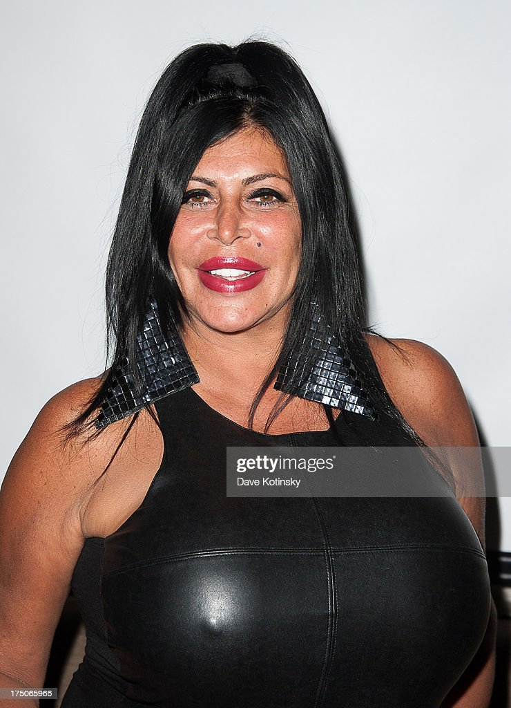 Angela '<a gi-track='captionPersonalityLinkClicked' href=/galleries/search?phrase=Big+Ang&family=editorial&specificpeople=8749866 ng-click='$event.stopPropagation()'>Big Ang</a>' Raiola attends dinner and a movie at KTCHN Restaurant on July 30, 2013 in New York City.