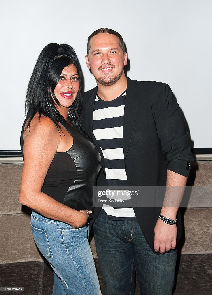 Angela 'Big Ang' Raiola attends Dinner And A Movie at KTCHN Restaurant on July 30, 2013 in New York City.