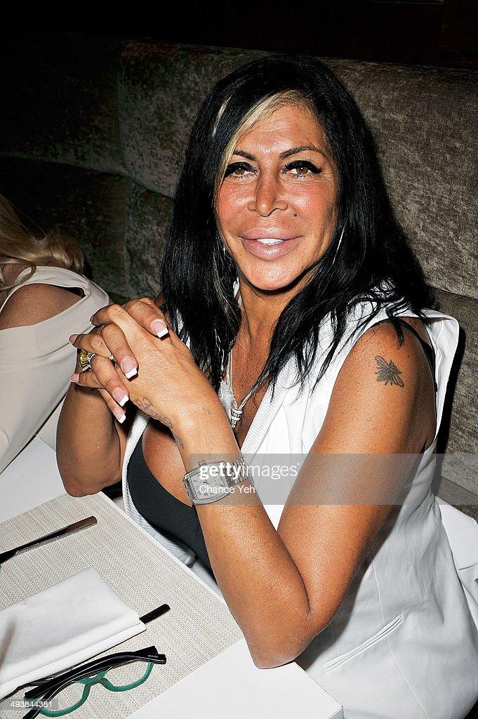 Angela 'Big Ang' Raiola attends Haus of Mimosa brunch at KTCHN Restaurant on May 25 2014 in New York City