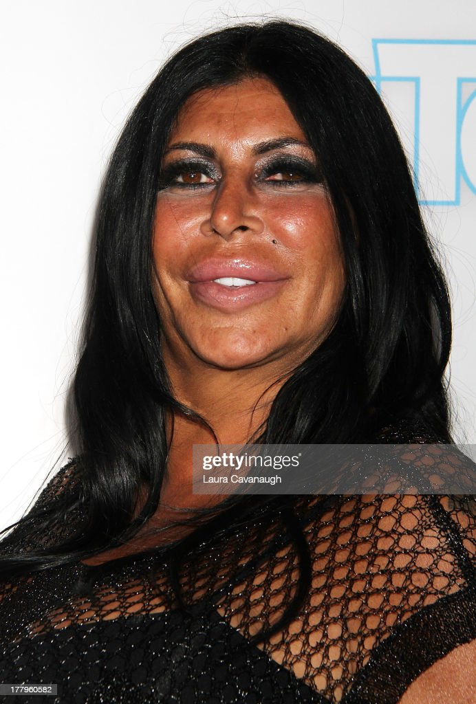 Angela 'Big Ang' Raiola attends In Touch Weekly's 2013 Icons & Idols event at FINALE Nightclub on August 25, 2013 in New York City.