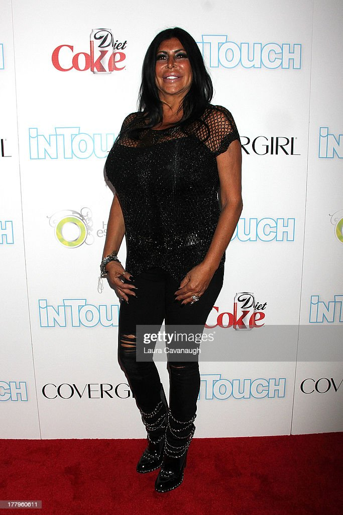 Angela '<a gi-track='captionPersonalityLinkClicked' href=/galleries/search?phrase=Big+Ang&family=editorial&specificpeople=8749866 ng-click='$event.stopPropagation()'>Big Ang</a>' Raiola attends In Touch Weekly's 2013 Icons & Idols event at FINALE Nightclub on August 25, 2013 in New York City.