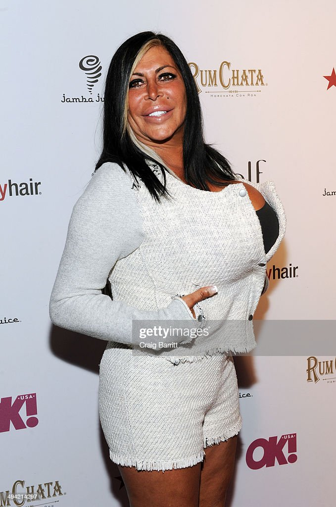 Angela 'Big Ang' Raiola attends OK Magazine's 'So Sexy' NY party at Marquee on May 28 2014 in New York City
