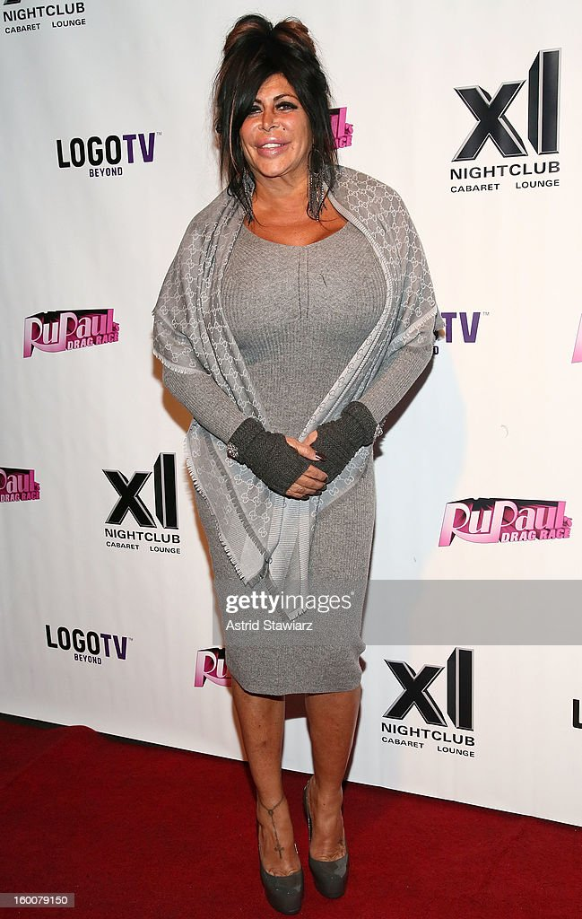Angela '<a gi-track='captionPersonalityLinkClicked' href=/galleries/search?phrase=Big+Ang&family=editorial&specificpeople=8749866 ng-click='$event.stopPropagation()'>Big Ang</a>' Raiola attends 'Rupaul's Drag Race' Season 5 Premiere Party at XL Nightclub on January 25, 2013 in New York City.