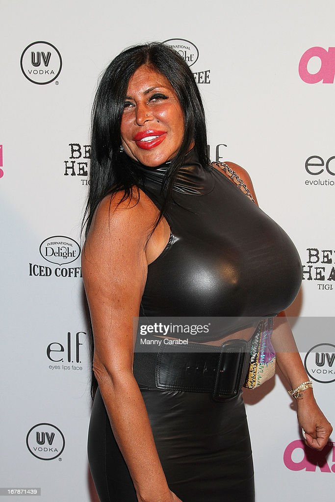 Angela ' Big Ang' Raiola attends the 2013 OK Magazine 'So Sexy' Party at Marquee on May 1 2013 in New York City