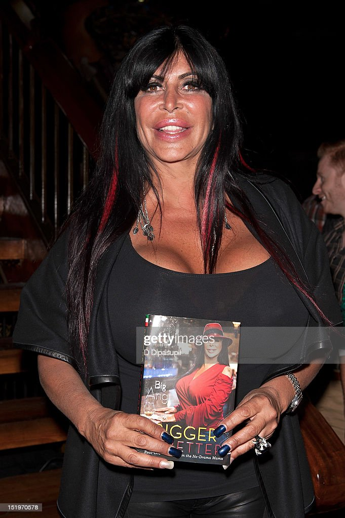 Angela 'Big Ang' Raiola attends the Big Ang 'Bigger Is Better Real Life Wisdom From The NoDrama Mama' Book Release Party at The Cutting Room on...