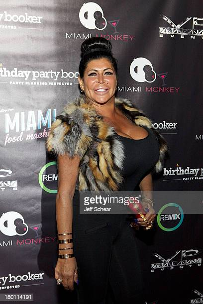Angela 'Big Ang' Raiola attends the MIAMI MONKEY Premiere Party Presented By JustJenn Productions And The Weinstein Company at 49 Grove on September...