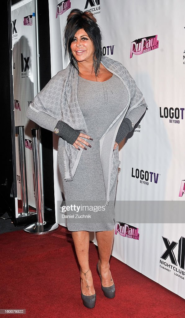 Angela '<a gi-track='captionPersonalityLinkClicked' href=/galleries/search?phrase=Big+Ang&family=editorial&specificpeople=8749866 ng-click='$event.stopPropagation()'>Big Ang</a>' Raiola attends the 'RuPaul's Drag Race' season 5 party at XL Nightclub on January 25, 2013 in New York City.