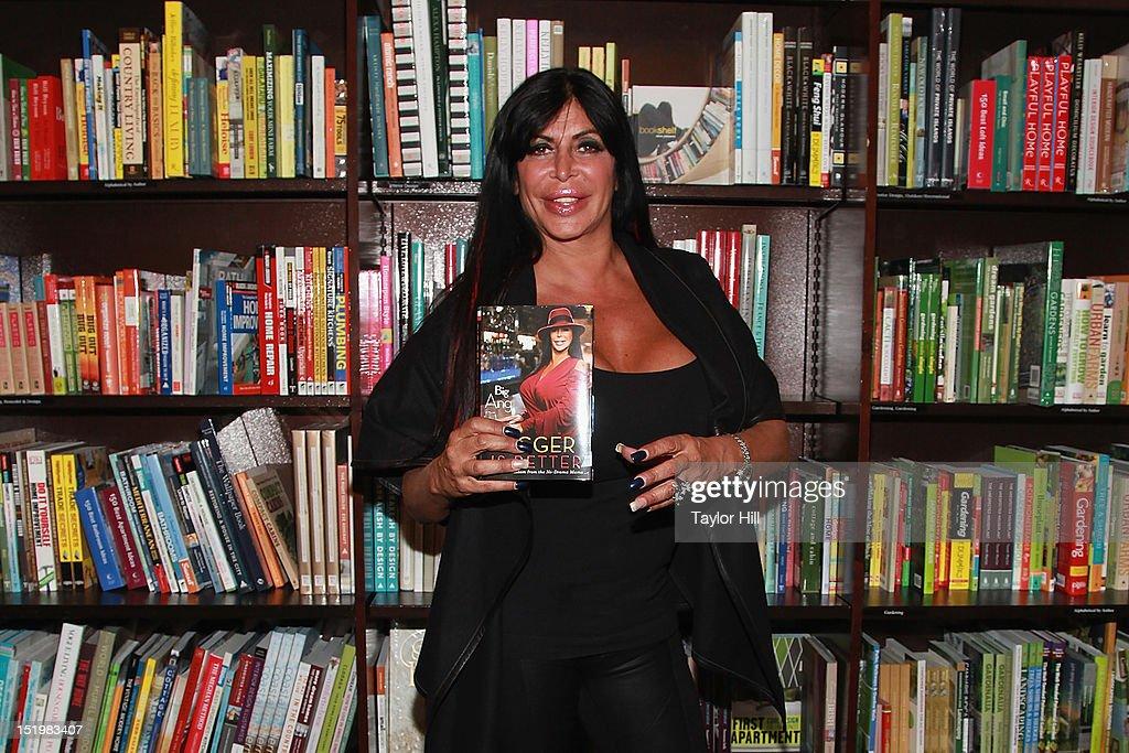 Angela 'Big Ang' Raiola promotes her new memoir 'Bigger is Better RealLife Wisdom from the NoDrama Mama' at Barnes Noble Tribeca on September 13 2012...