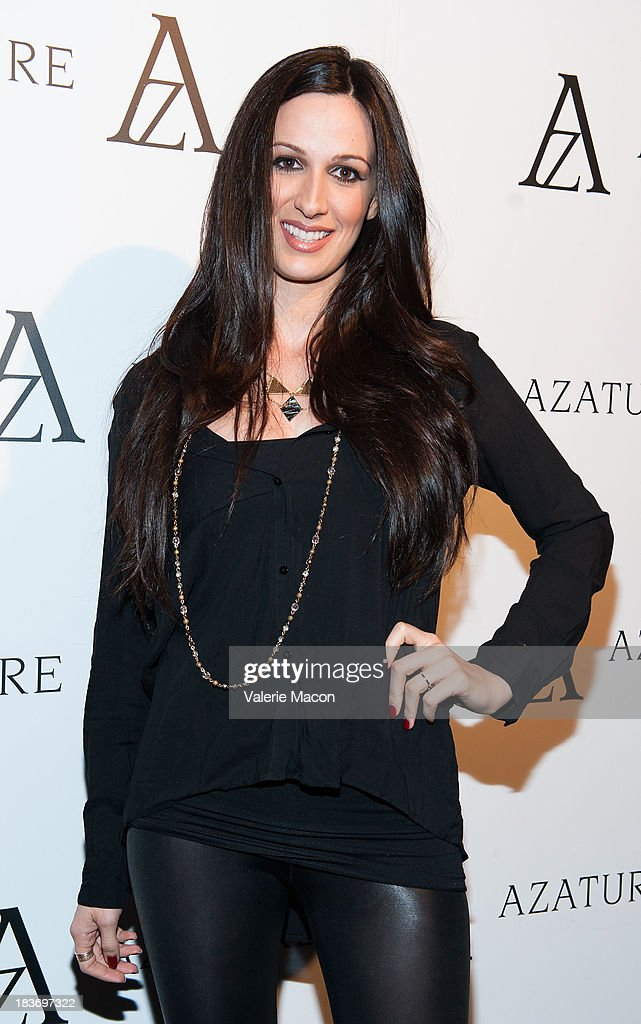 Angela Carter attends The Black Diamond Affair With A Z A T U R E at Sunset Tower on October 8, 2013 in West Hollywood, California.
