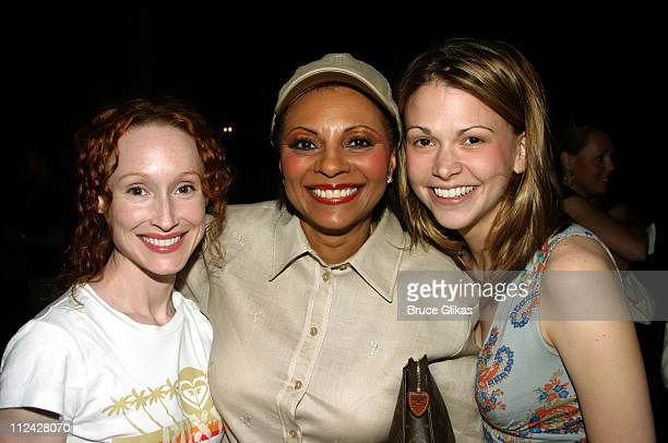 Angela Christian Leslie Uggams and Sutton Foster all of 'Thouroughly Modern Millie'