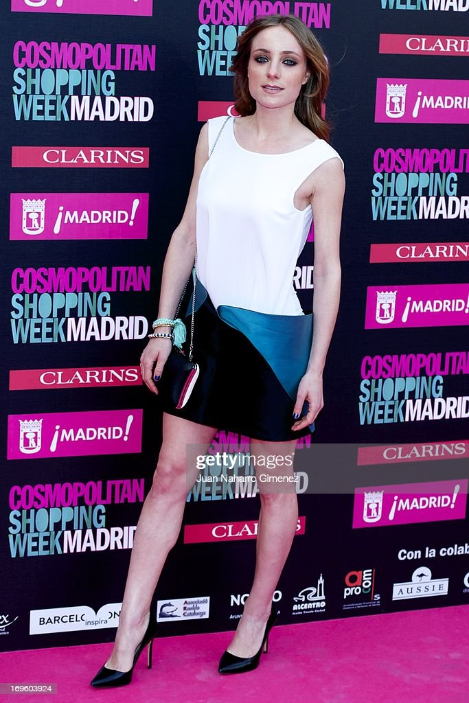 Angela Cremonte attends the 'Cosmopolitan Shopping Week' party at the Plaza de Callao on May 28, 2013 in Madrid, Spain.