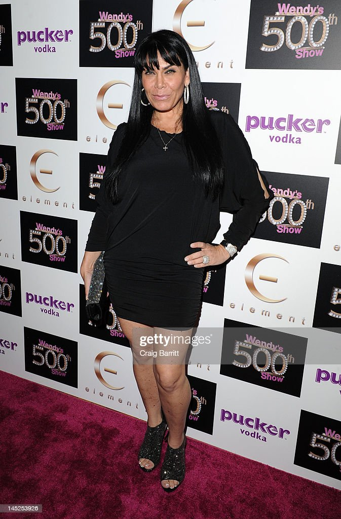 Angela Facciolo attends the Wendy Williams 500th Episode Celebration at Element on May 24, 2012 in New York City.