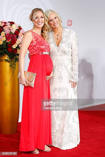Angela FingerErben and Bettina von Schimmelmann attend the Rosenball 2016 on April 30 in Berlin Germany