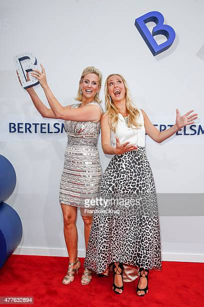 Angela FingerErben and Bettina von Schimmelmann attend the Bertelsmann Summer Party on June 18 2015 in Berlin Germany
