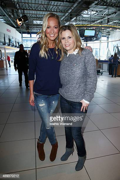 Angela FingerErben and Michaela Schaffrath attend the RTL Telethon 2014 on November 21 2014 in Cologne Germany