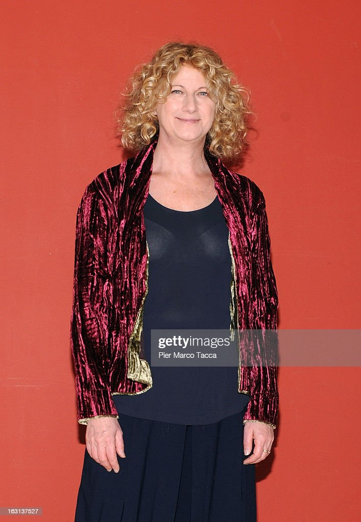Angela Finocchiaro attends a 'Ci vuole un gran fisico' photocall on March 5, 2013 in Milan, Italy.