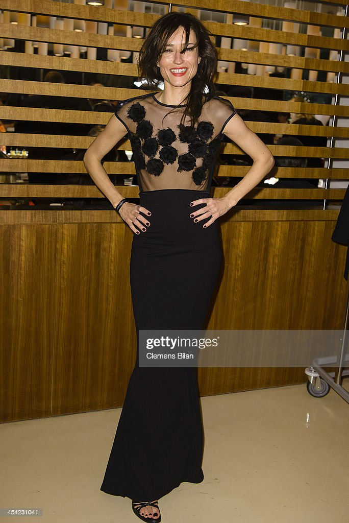 Angela Gregovic poses at the aftershow party of the European Film Awards 2013 on December 7, 2013 in Berlin, Germany.