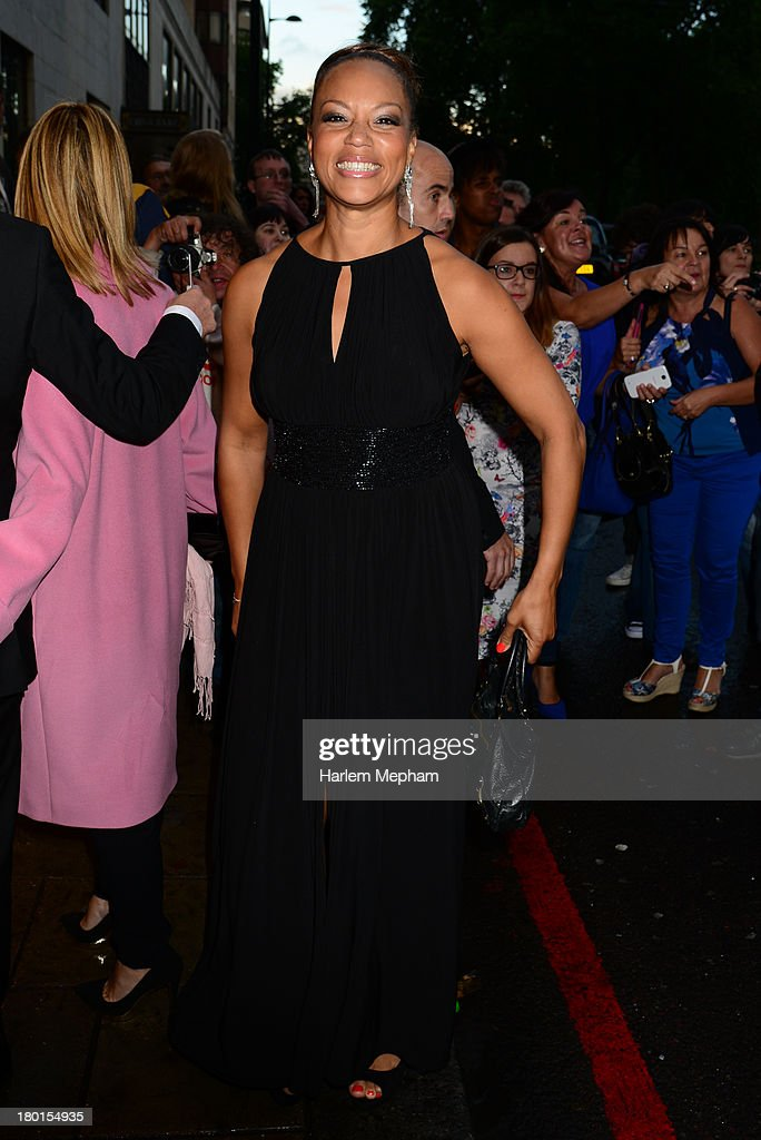 <a gi-track='captionPersonalityLinkClicked' href=/galleries/search?phrase=Angela+Griffin&family=editorial&specificpeople=239170 ng-click='$event.stopPropagation()'>Angela Griffin</a> sighting at the Dorchester Hotel on September 9, 2013 in London, England.