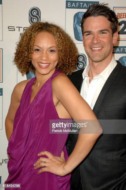 Angela Griffiths and Gethin Jones attend 2010 BAFTA LA Awards Season Tea Party at Beverly Hills Hotel on January 16 2010 in Beverly Hills California