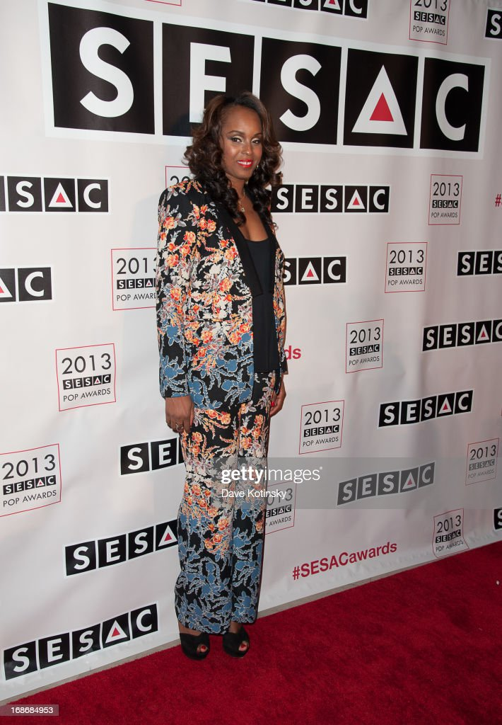 Angela Hunte attends 2013 SESAC Pop Music Awards at New York Public Library on May 13, 2013 in New York City.
