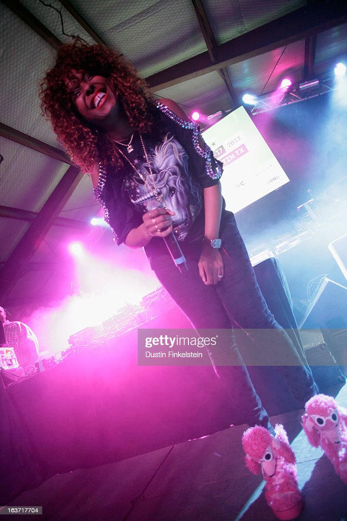 Angela Hunte performs onstage at Lion Fest during the 2013 SXSW Music, Film + Interactive Festival at Viceland on March 14, 2013 in Austin, Texas.