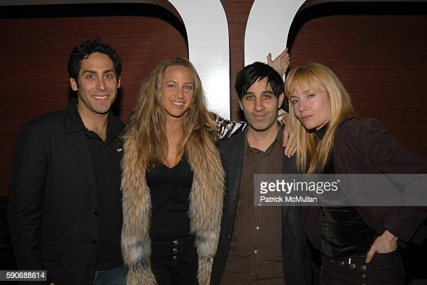Angela Janklow Jason Weinberg and Rebecca DeMornay attend Champagne Mumm celebrates a night with Patrick McMullan hosted by Ryan Tasz at Geisha House...