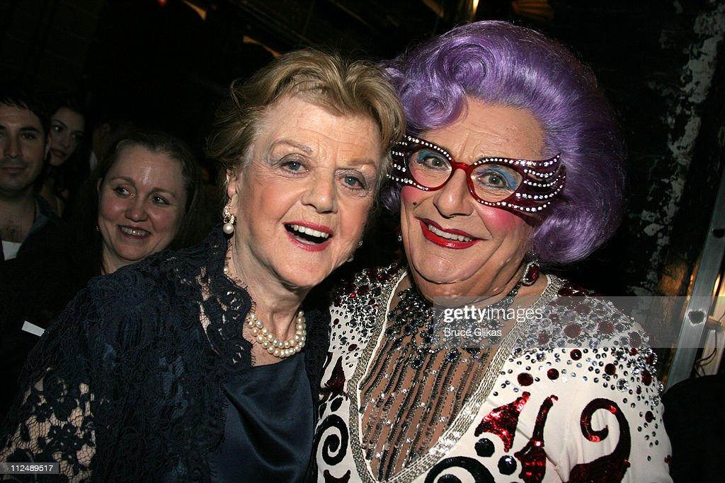 Angela Lansbury and Dame Edna Everage *exclusive*