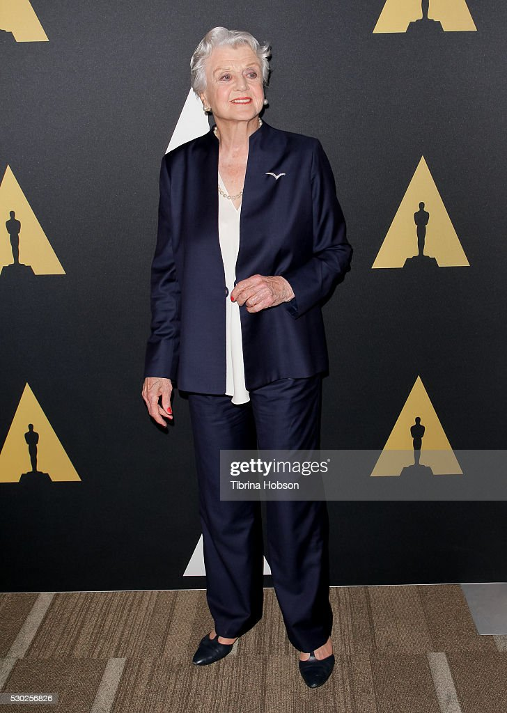 Angela Lansbury attends the 25th anniversary screening of 'Beauty And the Beast': A Marc Davis Celebration of Animationon, presented by The Academy on May 09, 2016 in Beverly Hills, California.