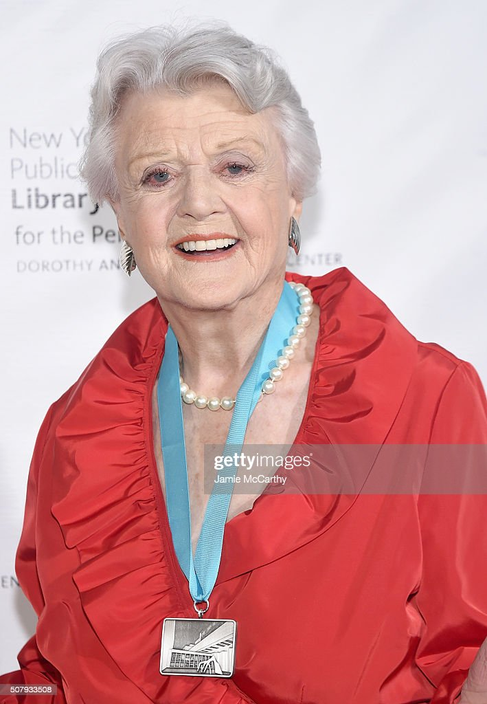 Angela Lansbury attends The New York Public Library For The Performing Arts' 50th Anniversary Gala at The New York Public Library - Stephen A. Schwarzman Building on February 1, 2016 in New York City.
