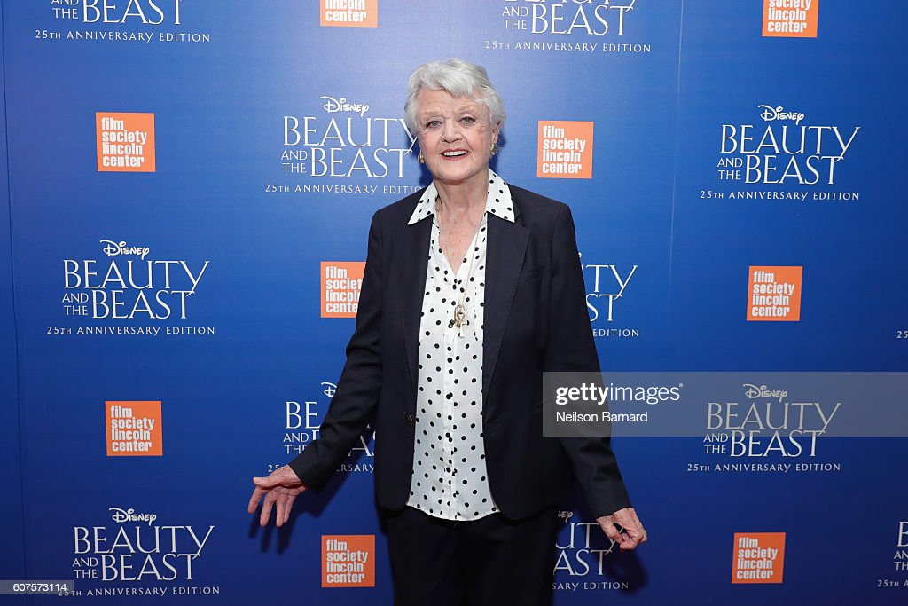 Angela Lansbury attends the special screening of Disney's 'Beauty and the Beast' to celebrate the 25th Anniversary Edition release on Blu-Ray and DVD on September 18, 2016 in New York City.