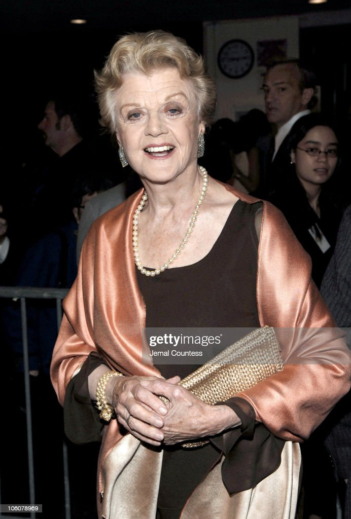 Angela Lansbury during 51sth Annual Drama Desk Awards - Arrivals at FH LaGuardia Concert Hall at Lincoln Center in New York City, New York, United States.