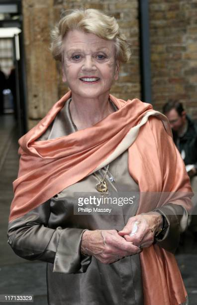 Angela Lansbury during Angela Lansbury Arriving at the Irish Film Institute in Dublin July 9 2006 at Irish Film Institute in Dublin Ireland