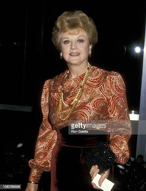 Angela Lansbury during Kennedy Center Honors Gala Dinner at State Department in Washington DC United States