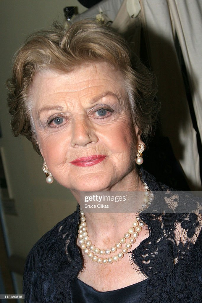 Angela Lansbury during The All-Star Stephen Sondheim 75th Birthday Celebration 'Children and Art' - Inside at Broadway's New Amsterdam Theatre in New York City, New York, United States.