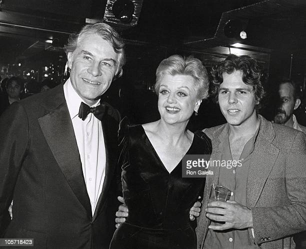 Angela Lansbury Husband and Son during Ruby Awards December 16 1979 at New York New York in New York City New York United States