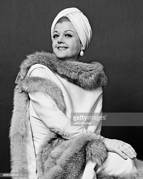 Angela Lansbury starring in the Broadway musical 'Mame' in 1966
