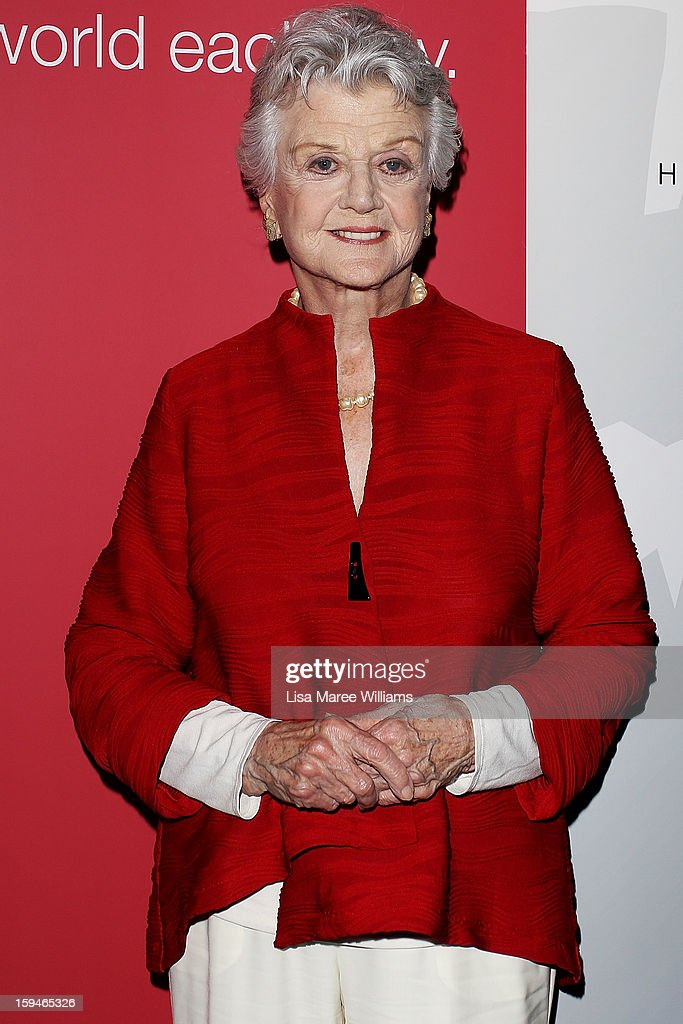 Angela Lansbury walks the red carpet at the 2012 Sydney Theatre Awards at the Paddington RSL on January 14, 2013 in Sydney, Australia.
