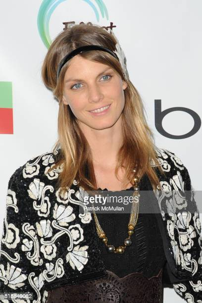 Angela Lindvall attends James Cameron and AVATAR Cast Celebrate Earth Day in Los Angeles at JW Marriot on April 22 2010 in Los Angeles California