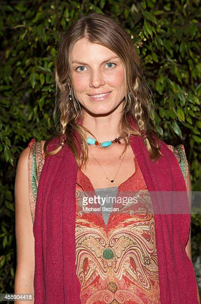 Angela Lindvall attends Save Our Soil Innovative Ways To Stop Climate Change on September 21 2014 in Los Angeles California
