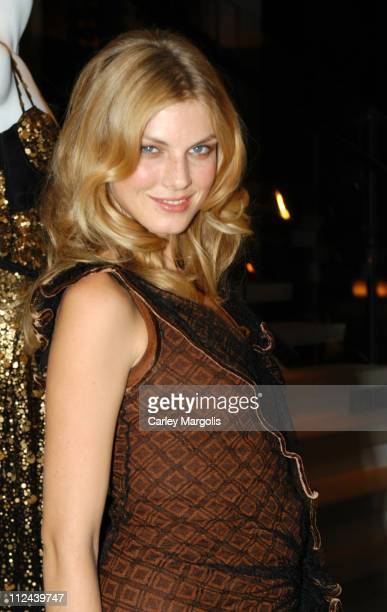Angela Lindvall during Donna Karan Celebrates the First Twenty Years with the Launch of 'The Journey of a Woman 20 Years of Donna Karan' at Donna...