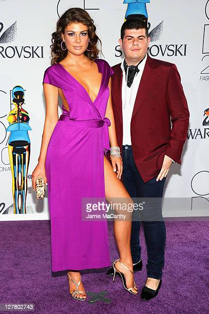 Angela Martini and Eli Mizrahi attend the 2011 CFDA Fashion Awards at Alice Tully Hall Lincoln Center on June 6 2011 in New York City