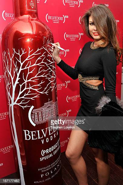 Angela Martini attends RED Night Lights for World AIDS Day at Bagatelle on November 29 2012 in New York City Photo by Stephen Lovekin/Getty Images...