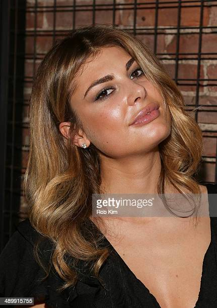 Angela Martini attends the Wattsup Rose 2014 Release at Tartinery on May 12 2014 in New York City