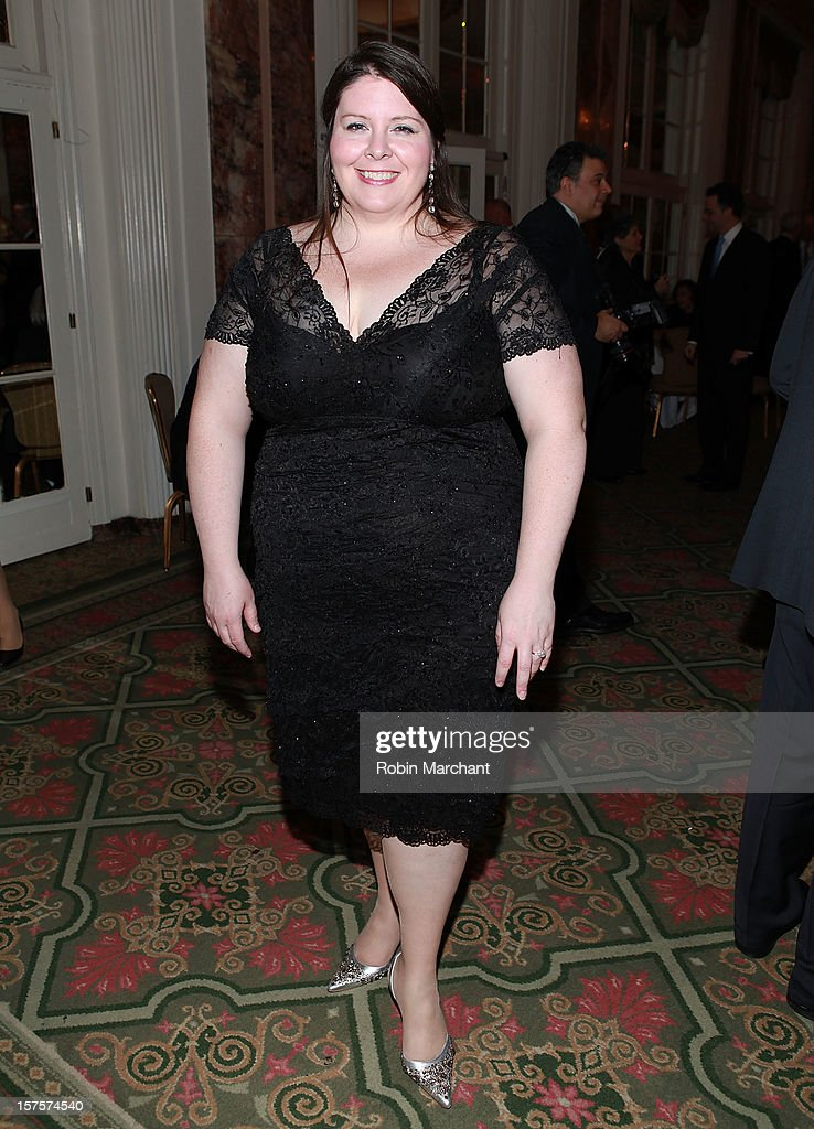 Angela Meade attends the Metropolitan Opera Guild's 78th Annual Luncheon Celebrating 'Star Power!' at The Waldorf=Astoria on December 4, 2012 in New York City.