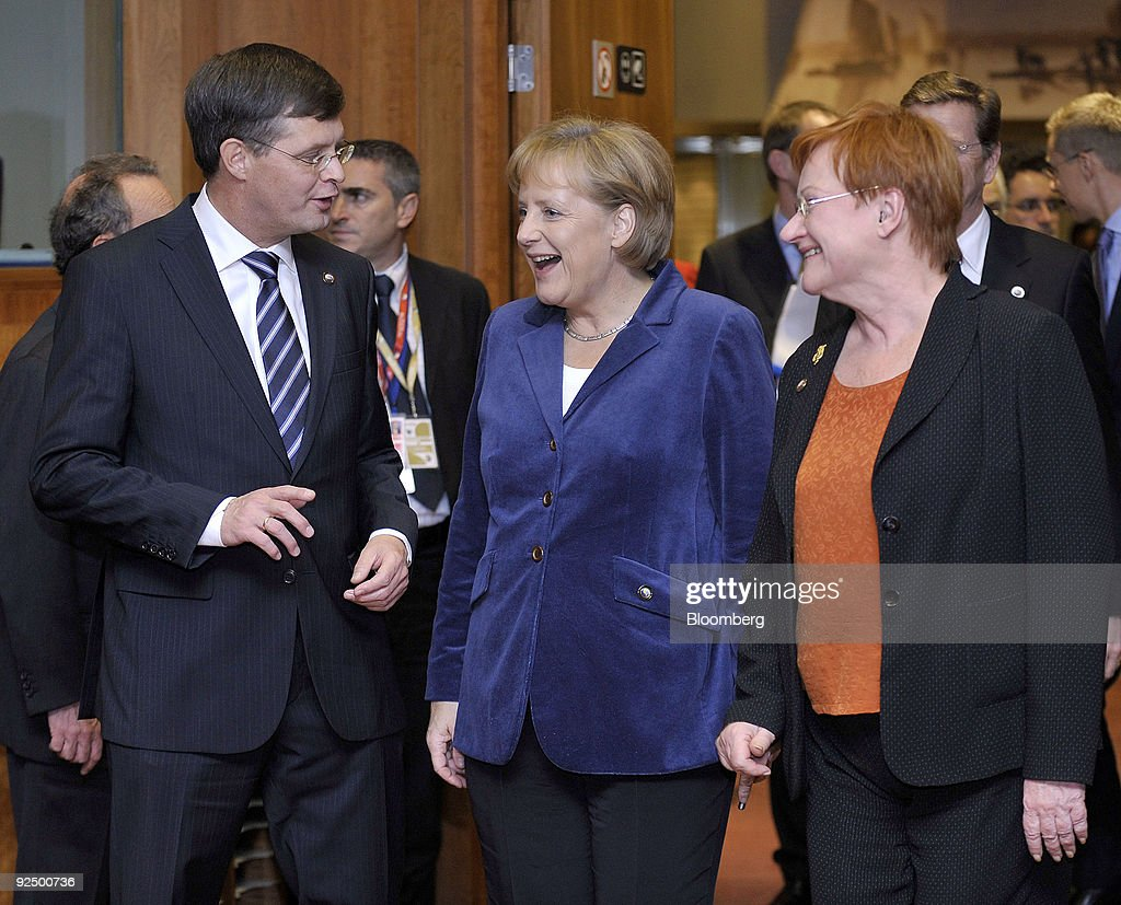 European Leaders Attend EU Summit