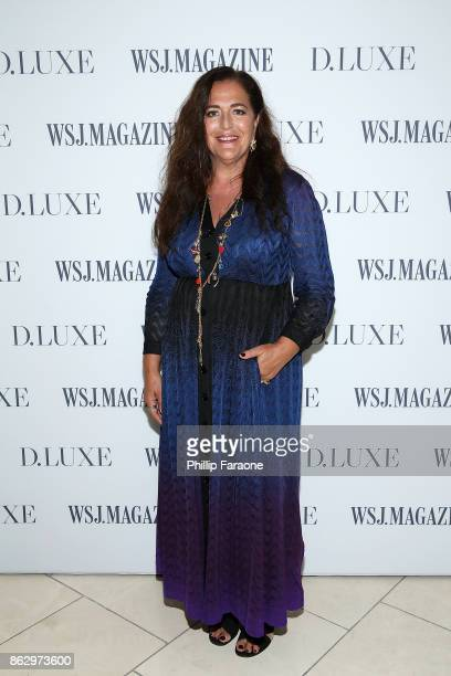 Angela Missoni attends DLUXE presented by WSJ Magazine at The Montage Laguna Beach on October 18 2017 in Laguna Beach California