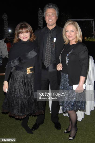 Angela Rich Marco Garibaldi and Kathy Hilton attend Lorenz Baumer Private Dinner in Celebration of his Paris Fine Jewelry Collection at The London...