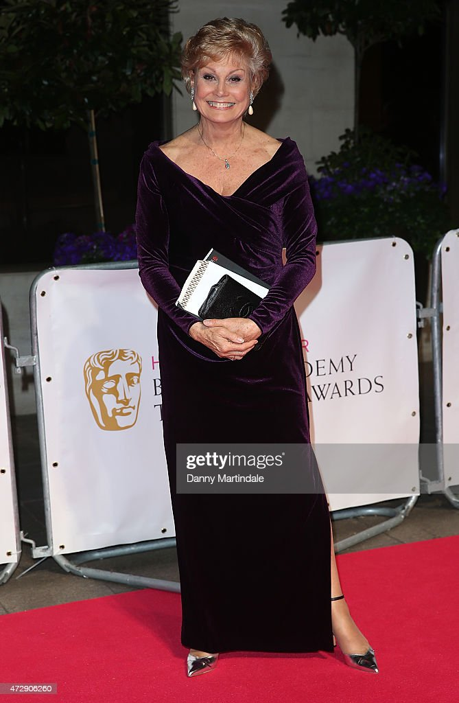 Angela Rippon attends the After Party dinner for the House of Fraser British Academy Television Awards at The Grosvenor House Hotel on May 10, 2015 in London, England.